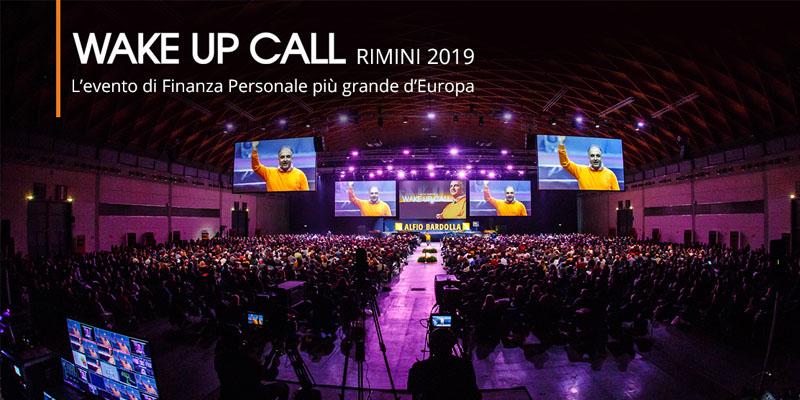 wake up call rimini 2019
