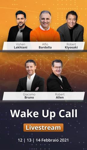 come trasformare la propria vita Wake Up Call